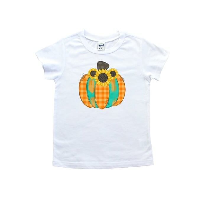 Sunflower Pumpkin T shirt