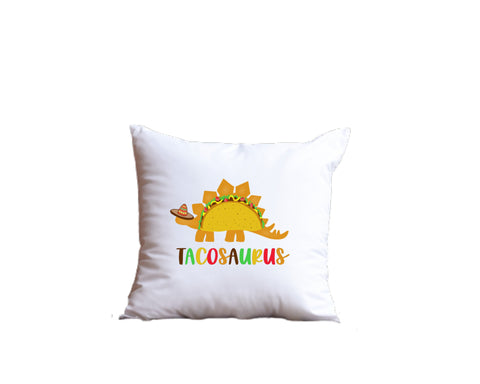 Tacosaurus Throw Pillow