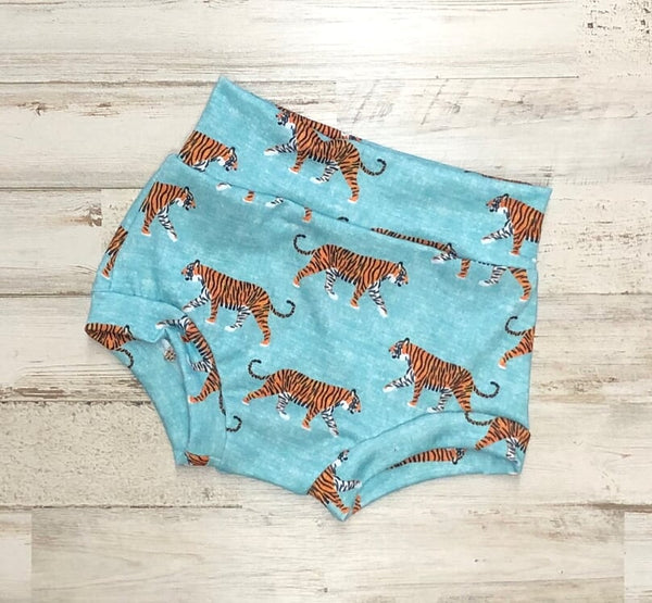Tiger High Waisted Bummies