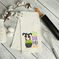 Trick Or Treat Smell My Feet Kitchen Towel