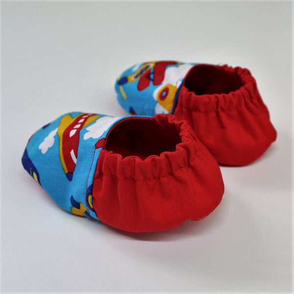 Airplane Baby Shoes