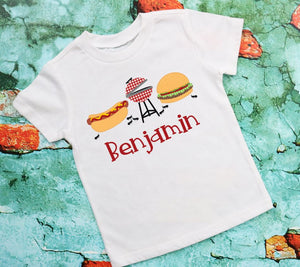 Personalized BBQ  Tee Shirt