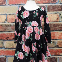 Floral twirl dress