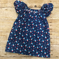 4th of July, Memorial Day bomb pops Peasant dress