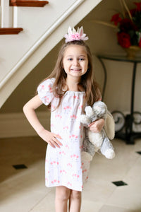 Easter Bunny Peasant Dress