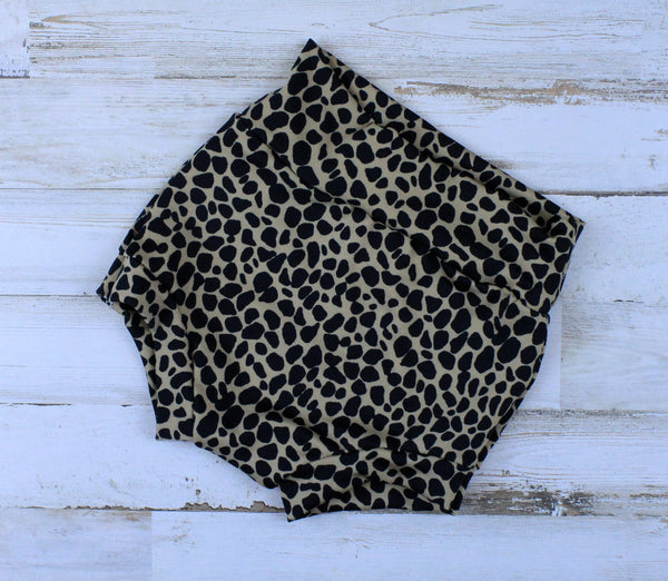 cheetah print bummies