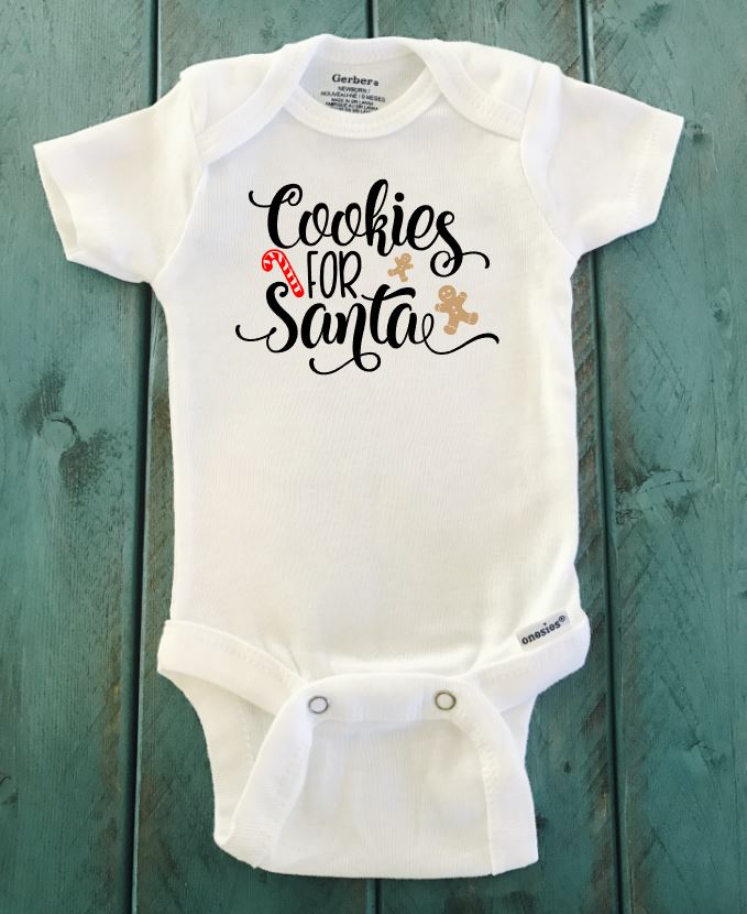 Cookies For Santa ONESIE ® brand Gerber