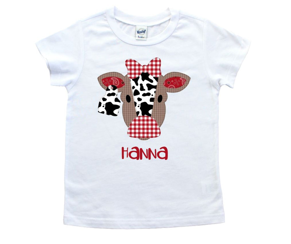 Personalized Cow Tee shirt