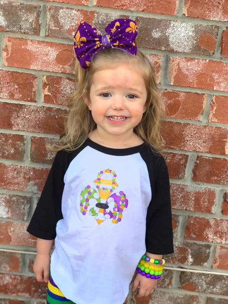 Fleur De Lis Raglan, Multiple Sizes Available