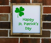 Happy St. Patrick's Day Sign