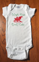 Sleigh hair don't care onesie - Christmas onesie - - Funny Onesie - Shower gift - baby clothes - baby gifts