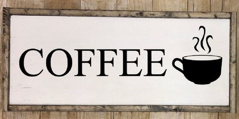 Coffee sign, Coffee wall art