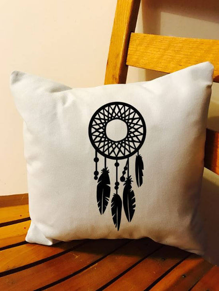 Dream Catcher Throw pillow, Dream Catcher cushion, Boho decor, dream catcher decor