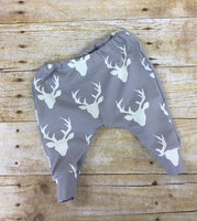 Oh Deer I'm Here pants and bodysuit infant or toddler outfit
