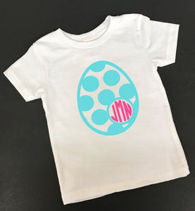 Easter Egg Monogram t shirt, Easter outfit