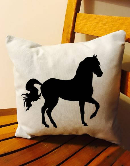 Horse throw pillow, horse farm pillow, farmhouse decor pillow, southern decor pillow, farm decor pillows