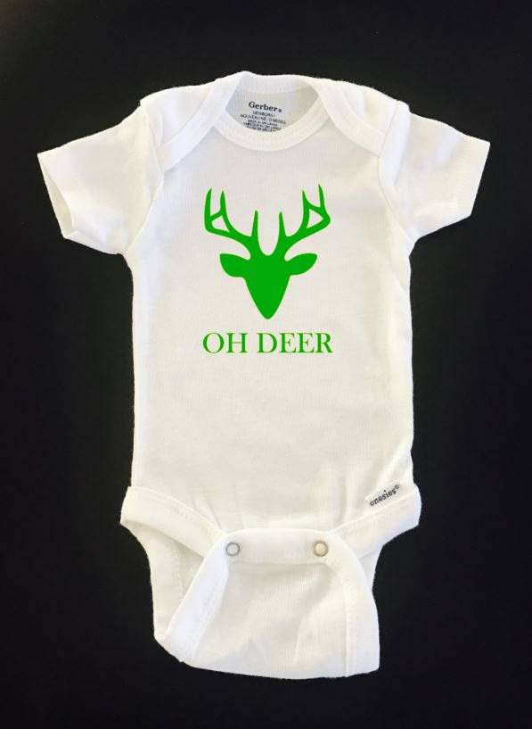 Oh Baby Onesie Shirt Shower Gift Funny Infant Newborn Clothes Gerber