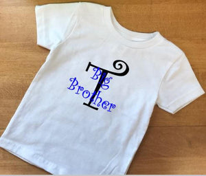 Big Brother T shirt, Sibling shirts, sibling outfits
