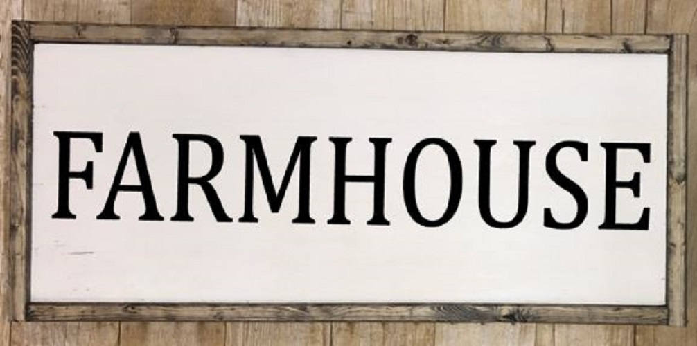 Farmhouse signs, Farmhouse decor, Framed kitchen farmhouse sign, Print