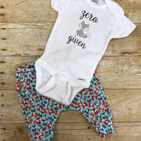 Zero Fox Given outfit, Infant boy clothes, Infant girl clothes Fox pants and onesie infant outfit, Fox baby joggers, Fox baby leggings