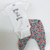 Zero Fox Given outfit, Infant boy clothes, Infant girl clothes Fox onesie and pants infant outfit, Fox baby joggers, Fox baby leggings