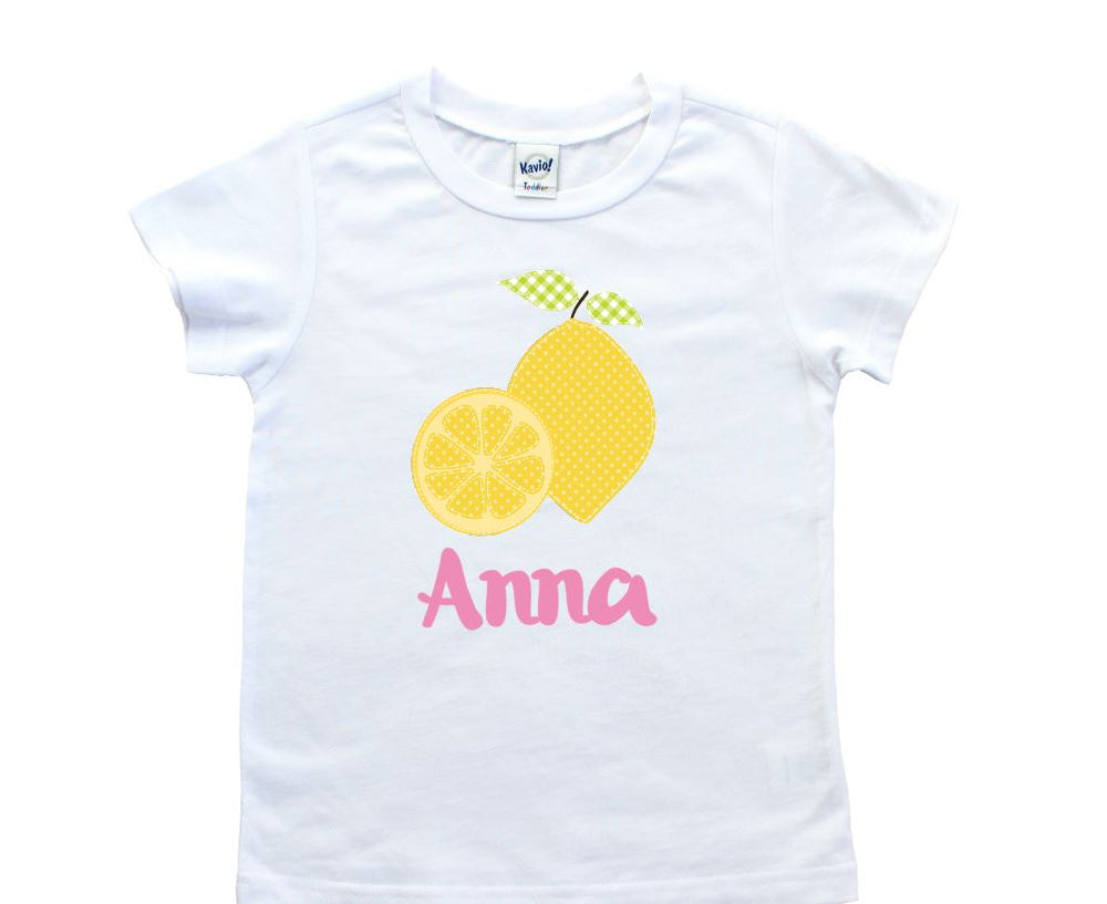 Personalized Lemon Tee shirt