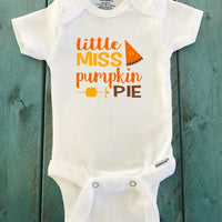 Little Miss Pumpkin Pie ONESIE ® brand Gerber
