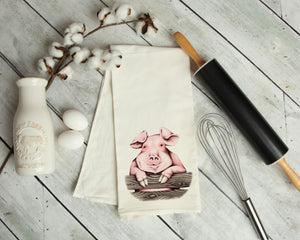 Little Piggy Kitchen towel