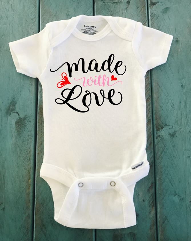 Made With Love ONESIE ® brand Gerber