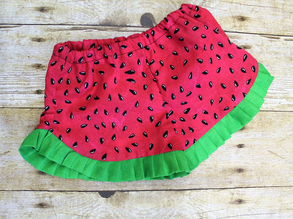 One in a Melon Watermelon Outfit