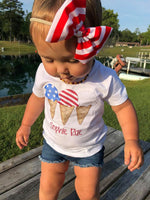 Patriotic Ice Cream Tee shirt