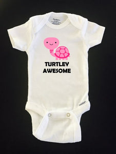 Turtley Awesome ONESIE ® brand Gerber Onesie Bodysuit