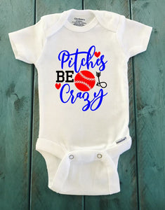 Pitches Be Crazy ONESIE ® brand Gerber