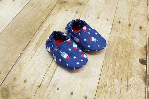 Bomb Pop Baby Shoes