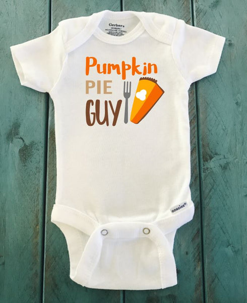 Pumpkin Pie Guy ONESIE ® brand Gerber