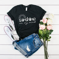 Sunshine on My Mind Tee shirt