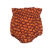 Watercolor Pumpkin Bloomers