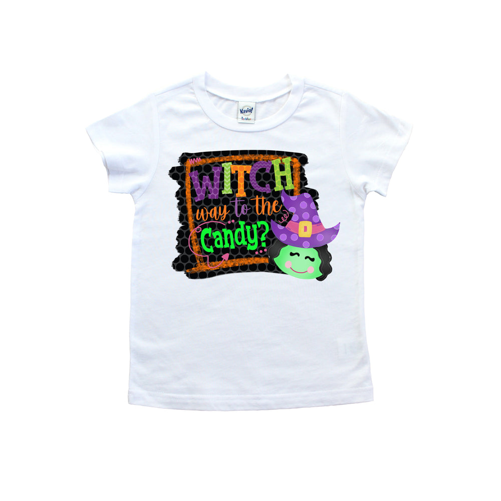 Witch Way To The Candy Tee shirt