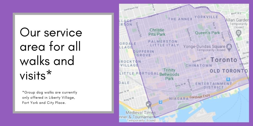 Our service map