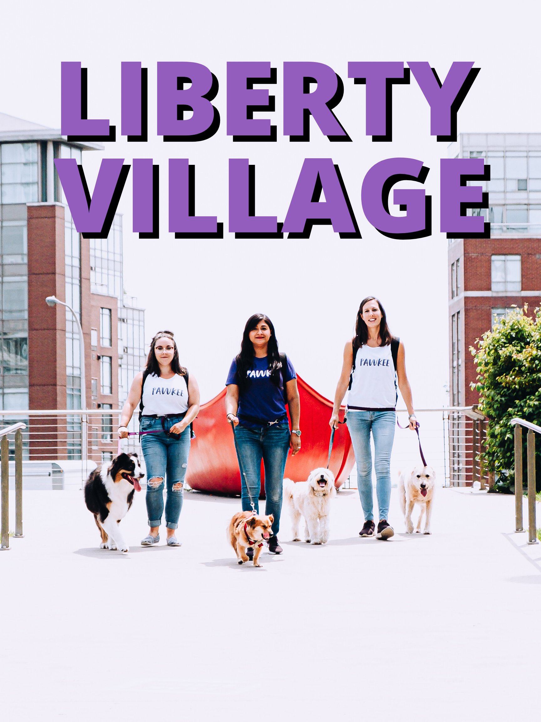 5 GROUP WALKS in Liberty Village,Fort York, City Place and Dundas West.