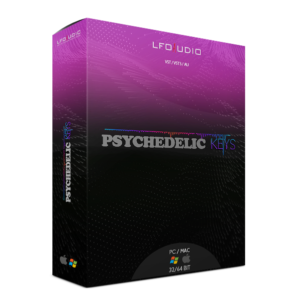 Psychedelic Keys - Pre-orders Available