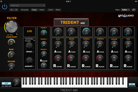 Details about KORG TRIDENT VST Plug-in samples sounds synth analog MAGIX  SONY REAPER BITWIG