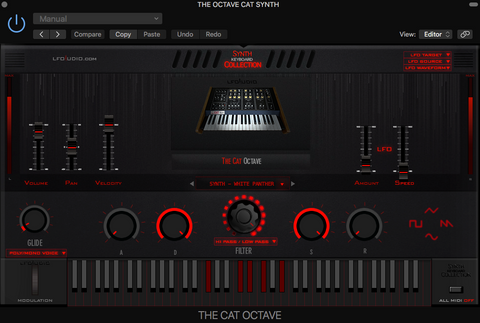 Octave Cat Synth Synthesizer