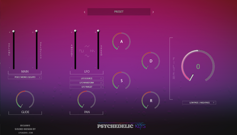 psychedelic Keys keybaoards synth sounds