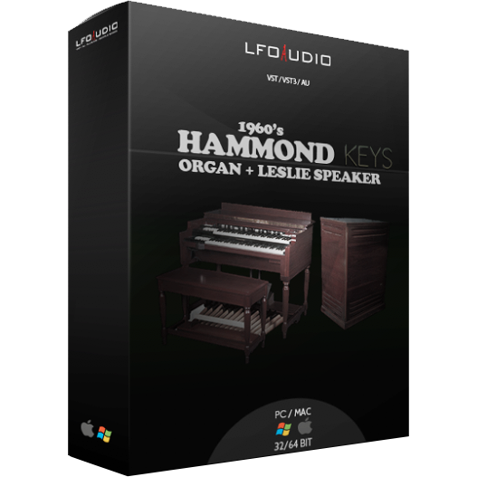 1960's Hammond Keys - LFOAudio
