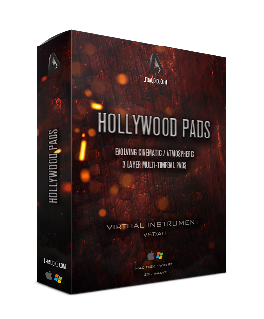 Hollywood pads vst plugin au synthesizer string pad