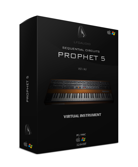 prophet 5 vintage sequential circuits dave smith vst plugin au rare synth synthesizer rompler samples sounds wav wave