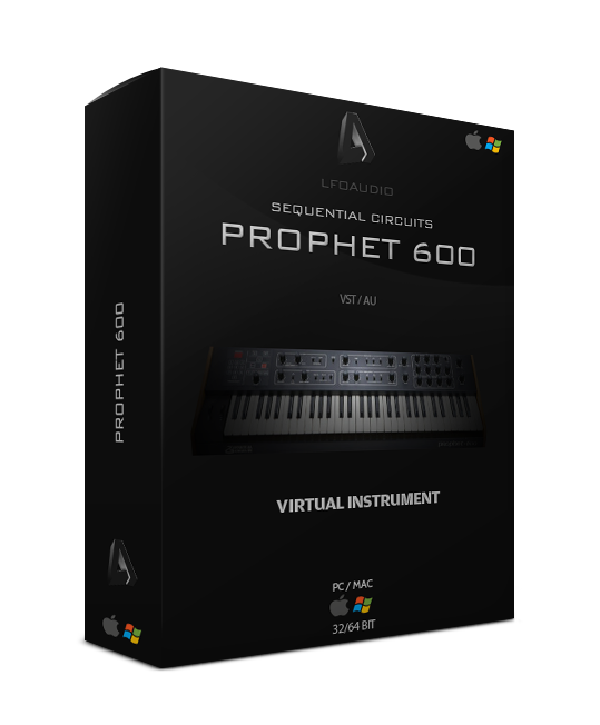 prophet 600 sequential circuits SC vintage analog synth synthesizer vst au plugin plug-in