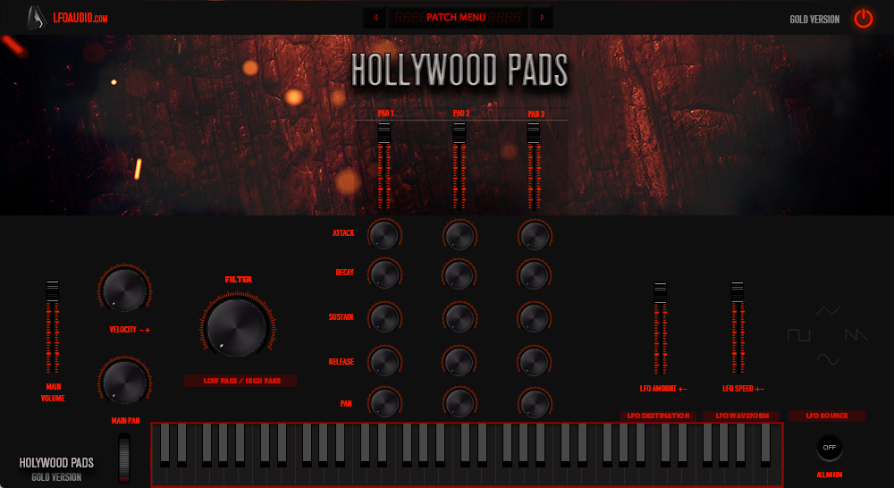 hollywood pads string plugin pad synthesizer synth analog