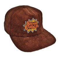 Brown Cordigan Hat